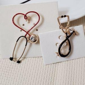 Super stylish stethoscope brooch pins UNISEX